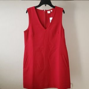 Gap red dress